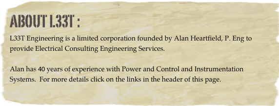 About L33T :